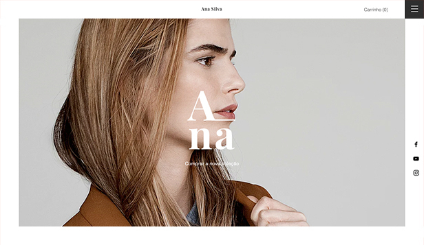 Moda website templates – Boutique da Moda