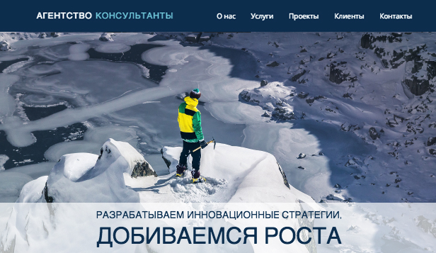 Финансы и право website templates – Консультант