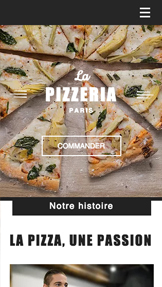 Restaurants website templates – Restaurant Pizzeria