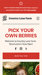 Guarda tutti i template template – Pick-Your-Own Farm
