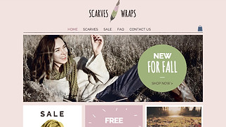 Jewelry & Accessories website templates - Accessories Store