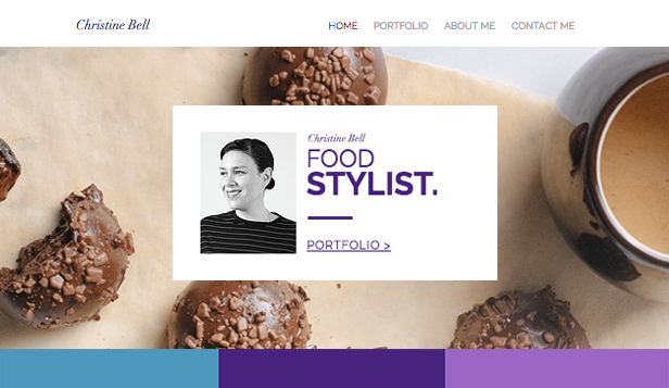 Branding website templates – Foodstylist