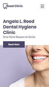 健康&フィットネス website templates – Dental Hygienist