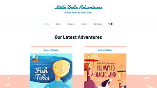 Books & Publishers website templates - Bookstore