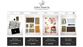 Arts & Crafts website templates - Paperie