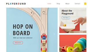 Kids & Babies website templates - Toy Store