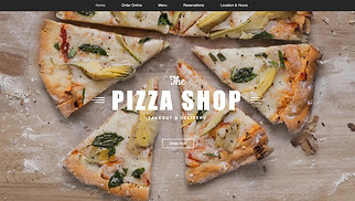 Restaurant website templates - Food Delivery Service‎