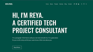 All website templates - Project Consultant