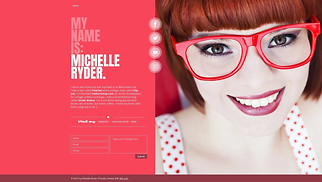 Resumes & CVs website templates - Personal Page