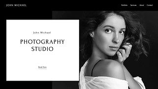 Photography website templates - Photography Studio