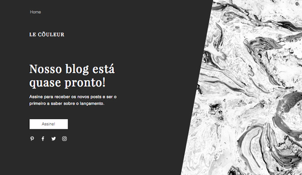 Arte e Cultura website templates – Em Breve - Blog