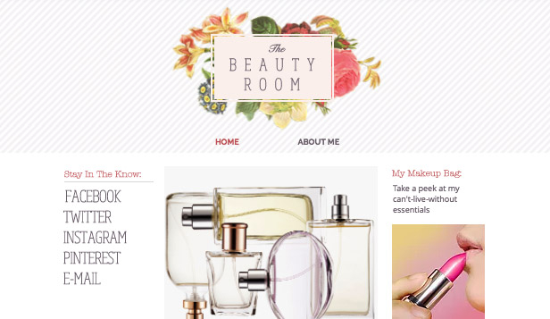 Schoonheid en kapsels website templates – Beautyblog