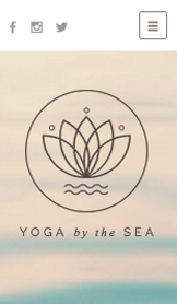 Wellness website templates – Yoga-Studio