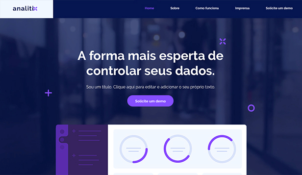Tecnologia e Aplicativos website templates – Aplicativo Web