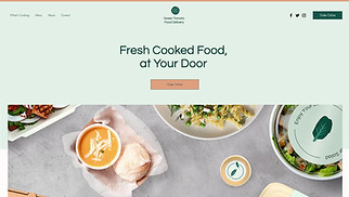 All website templates - Food Delivery