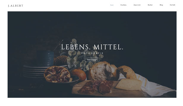 Restaurants & Essen website templates – Food-Fotograf