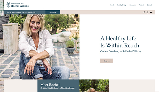 Business template – Health Coach