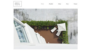 Design website templates - Residential Architects