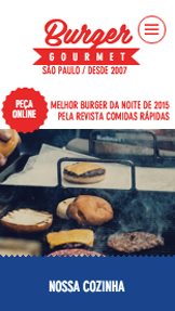 Restaurante website templates – Hamburgueria