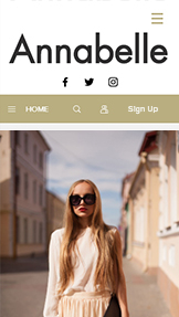 Moda website templates – Kişisel Stil Blogu