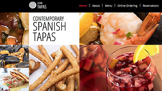 Restaurants & Food website templates - Spanish Restaurant