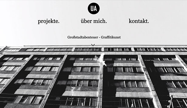 Kreative Künste website templates – Graffiti-Künstler