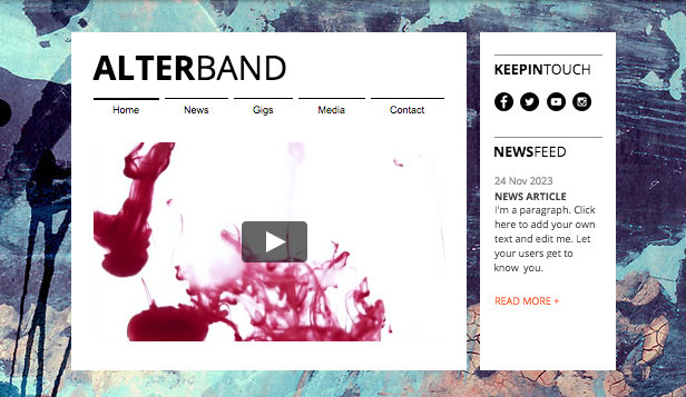Band template – Musica