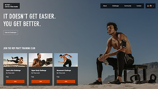 NEW! website templates - Fitness Trainer