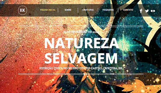 Artes Criativas website templates – O Artista