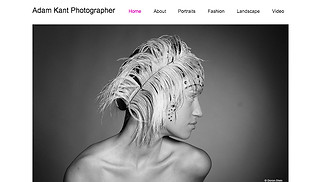 Photography website templates - Photographer
