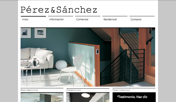 Agencias plantillas web – Arquitecto & Co.
