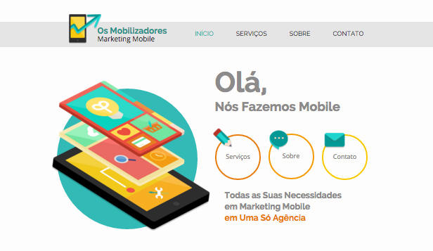 Tecnologia e Aplicativos website templates – Design Corporativo