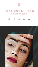 Vlasy a krása website templates – Blog – makeup