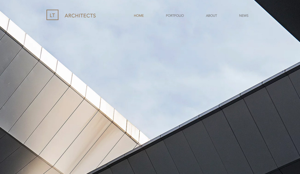 Architektura website templates – Architektonická firma