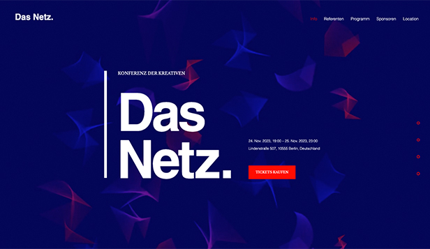 Design website templates – Designkonferenz