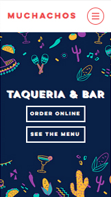 Templates de site web pour Restaurants - Taqueria Mexicaine
