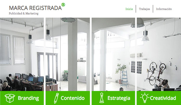 Todas plantillas web – Diseño corporativo