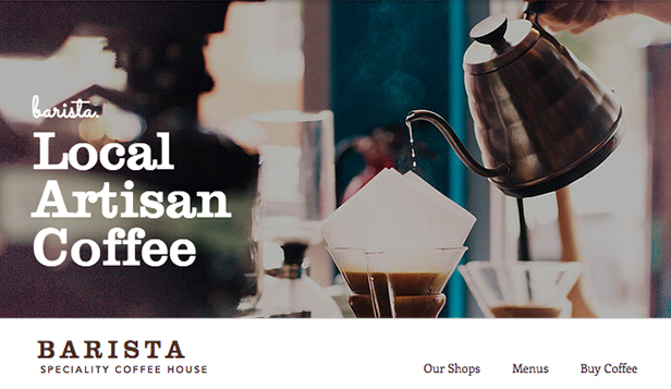 Kafe ve Pastane website templates – Kafe