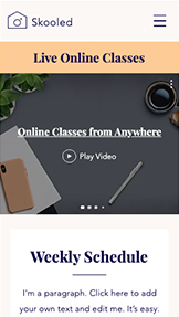 Занятия и курсы website templates – Streaming Education