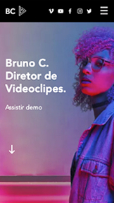 Vídeo website templates – Diretor de Videoclipe