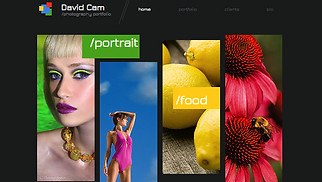 Photography website templates - Photographer Site