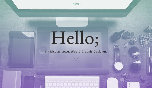 Design website templates – Webdesignportefølje