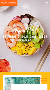 Restaurante website templates – Restaurante Poke