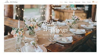 Event Production website templates - Wedding Planner