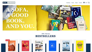 Creative Arts website templates - Online Bookstore