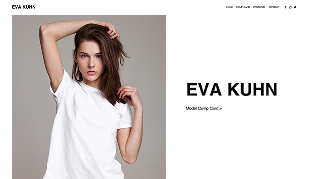 Moda ve Stil website templates – Model Portföyü