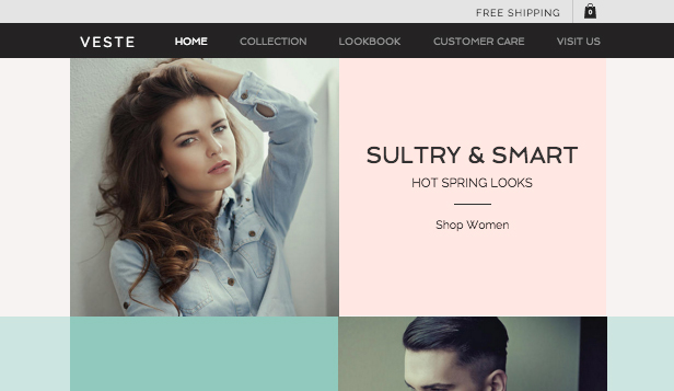 Mode en kleding website templates –  Modeboetiek