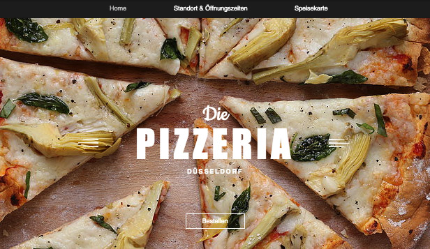 Restaurants & Essen website templates – Italienisches Restaurant