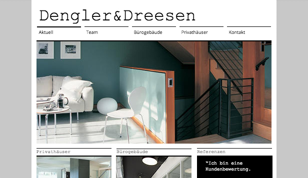 Unternehmen website templates – Architekturagentur