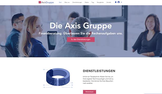 Html Homepage Vorlagen Fur Beratung Coaching Wix